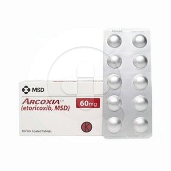 Arcoxia tablet adalah obat yang digunakan untuk mengobati peradangan dan nyeri sendi