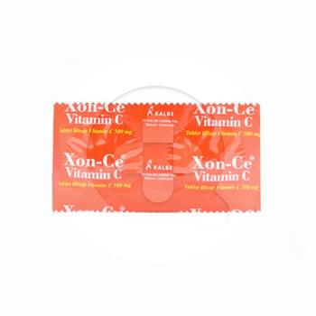 Xon-Ce Vit C Tablet 500 mg  harga terbaik 1594