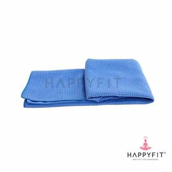 Happyfit Yogamat Towel - Blue harga terbaik 350000