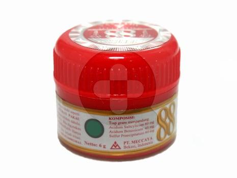 Cap 88 salep kulit digunakan untuk mengatasi gatal-gatal, kurap, panu, dan kutu air akibat infeksi jamur