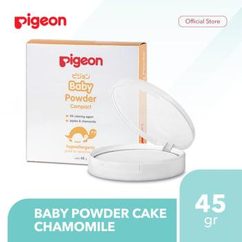 Pigeon Baby Powder Cake Chamomile 45 g harga terbaik 42500