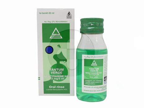 Tantum Verde Oral Rinse 120 mL harga terbaik 38532