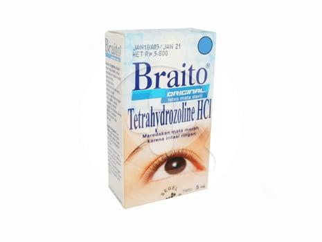 Braito original tetes mata berguna untuk melembapkan mata yang kering dan mengalami iritasi ringan