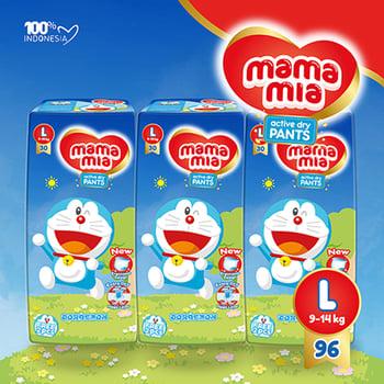 Mamamia Popok Bayi Tipe Celana L96  harga terbaik