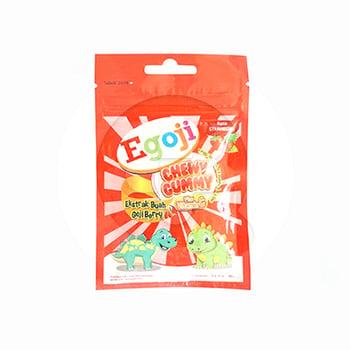 Egoji Chewy Gummy Strawberry 20 g  harga terbaik