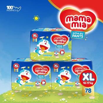 Mamamia Popok Bayi Tipe Celana XL78  harga terbaik