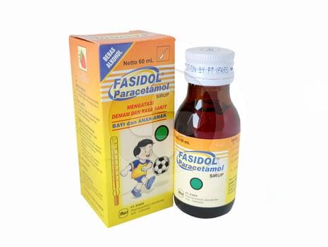 Fasidol sirup adalah obat yang digunakan untuk meredakan nyeri ringan hingga sedang