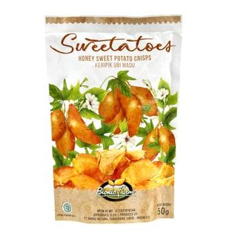 Bionic Farm - Sweetatoes Keripik Ubi Madu 50 g harga terbaik 12075