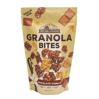 East Bali Cashews - Granola Bites Chocolate Vanilla 125 g harga terbaik 31185