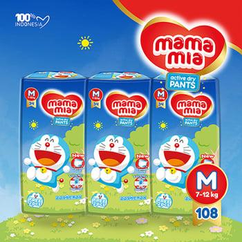 Mamamia Popok Bayi Tipe Celana M108  harga terbaik