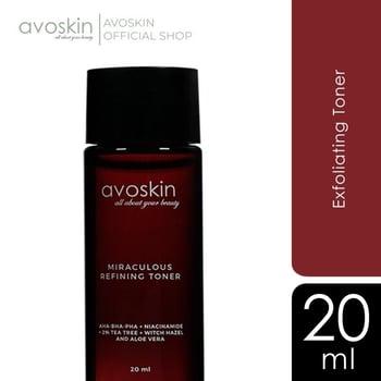 Avoskin Miraculous Refining Toner 20 mL harga terbaik