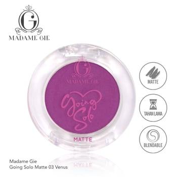 Madame Gie Going Solo Matte Pressed Eyeshadow 03 - Venus harga terbaik 16000