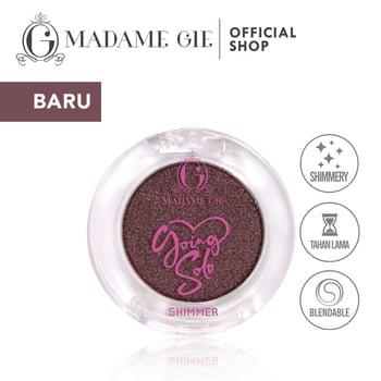 Madame Gie Going Solo Shimmery Pressed Eyeshadow 24 - Glamovos harga terbaik 16000