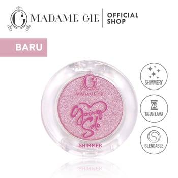 Madame Gie Going Solo Shimmery Pressed Eyeshadow 04 - Blooming harga terbaik 16000