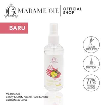 Madame Gie Beauty & Safety Alcohol Hand Sanitizer Eucalyptus & Citrus