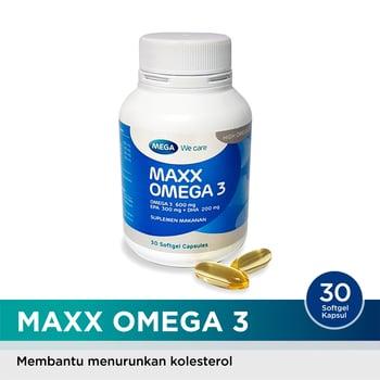 Mega We Care Maxx Omega 3  harga terbaik 220000