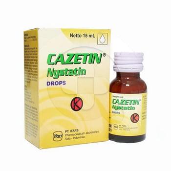 Cazetin drops adalah obat untuk mengatasi seriawan di mulut akibat pertumbuhan jamur