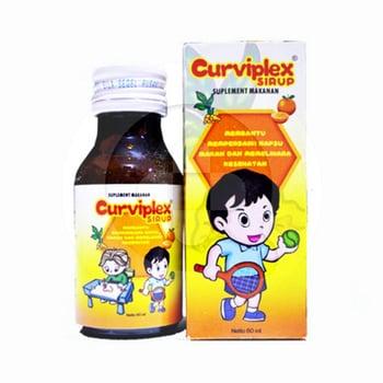 Curviplex Sirup 60 mL harga terbaik 7956
