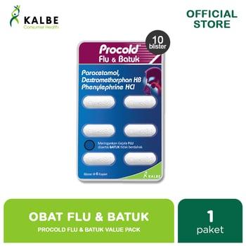 Procold Flu & Batuk Kaplet Value Pack  harga terbaik 39000