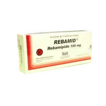 Rebamid tablet adalah obat untuk mengatasi luka dan peradangan pada dinding lambung