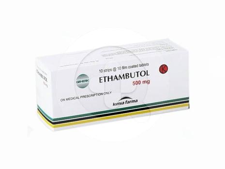 Ethambutol Kimia Farma Tablet 500 mg  harga terbaik