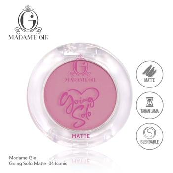 Madame Gie Going Solo Matte Pressed Eyeshadow 04 - Iconic harga terbaik 16000