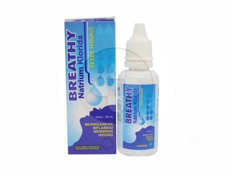 Breathy Nasal drop adalah obat yang digunakan untuk meringankan peradangan pada membran hidung