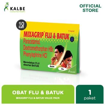 Mixagrip Flu & Batuk Kaplet Value Pack  harga terbaik 26500
