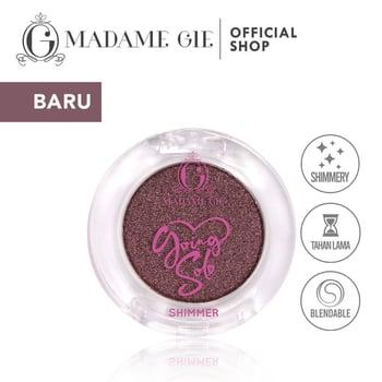 Madame Gie Going Solo Shimmery Pressed Eyeshadow 20 - Touche harga terbaik 16000