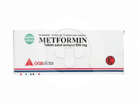 Metformin OGB Dexa Medica Tablet 500 mg  harga terbaik 30925