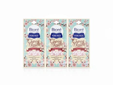 BIORE Pore Pack Cherry Blossom 4S x 3 harga terbaik 39300