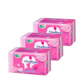 Laurier Pantyliner Cleanfresh 40S Perfume Triple Pack harga terbaik 31500