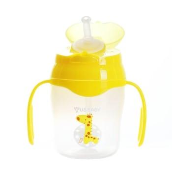 US Baby Straw Training Cup 150 ml - Kuning harga terbaik 168000