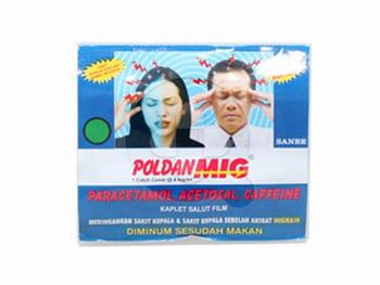 Poldan Mig Kaplet (1 Strip @ 4 Kaplet)