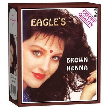 Eagle's Brown Henna Hair Dyes (Box @ 6 Pcs)
