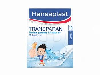 Hansaplast Transparent 10's