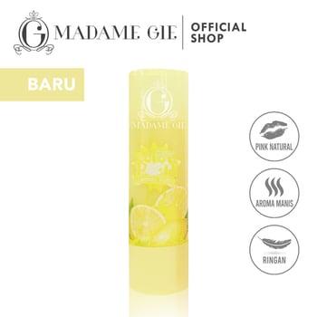 Madame Gie Color Pop Lip Balm Yuzu Lemon