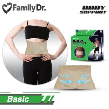 FamilyDr Belt 2 Back Support Basic (M)