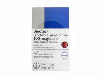 Berotec MDI Inhaler 100 mcg