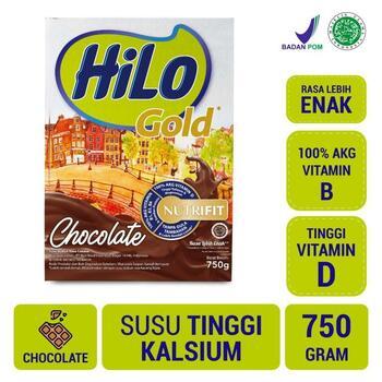 HiLo Gold Chocolate 750 g