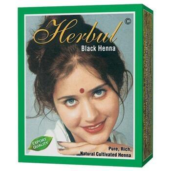 Herbul Black Henna Hair Dyes (Box @ 6 Pcs)