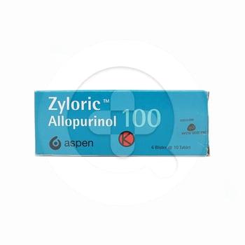 Zyloric Tablet 100 mg (1 Strip @ 10 Tablet)