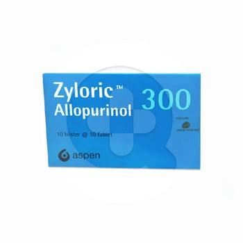 Zyloric Tablet 300 mg (1 Strip @ 10 Tablet)