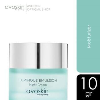 Avoskin Luminous Emulsion Night Cream 10 g