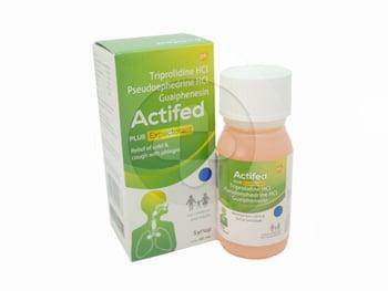 Actifed Plus Expectorant Sirup 60 ml